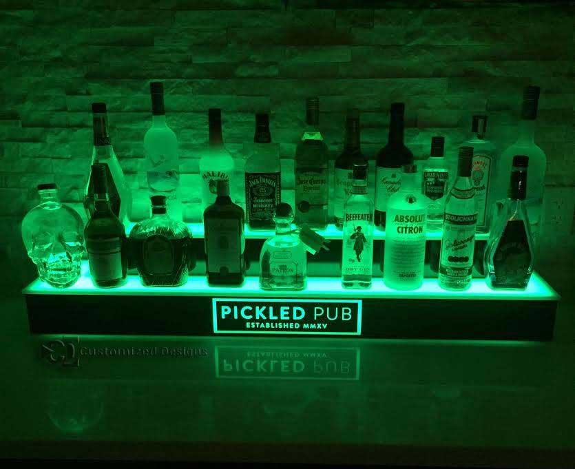 Liquor Shelf Home Bar