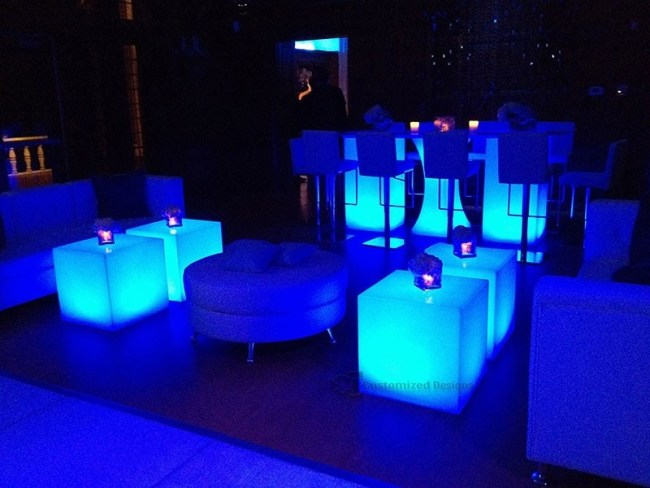 LED Lighted Event Tables 2