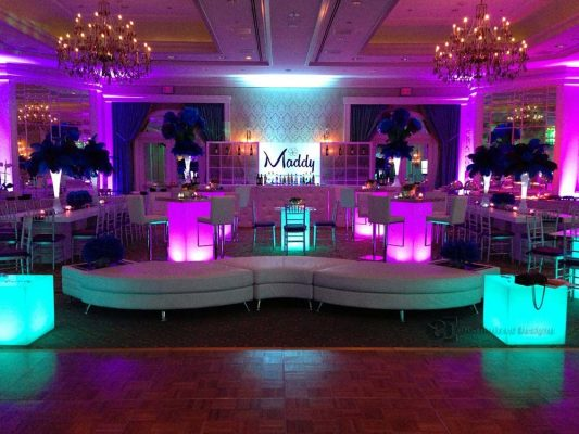 LED Lighted Special Event Tables