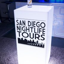 Lumen LED Glow Cube w/ Skyline Logo