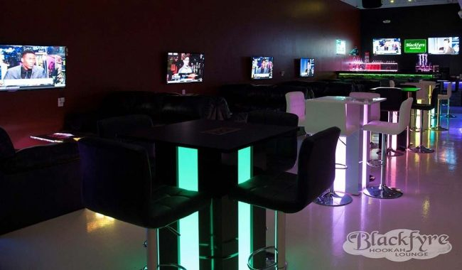 Mirage LED High Boy Table