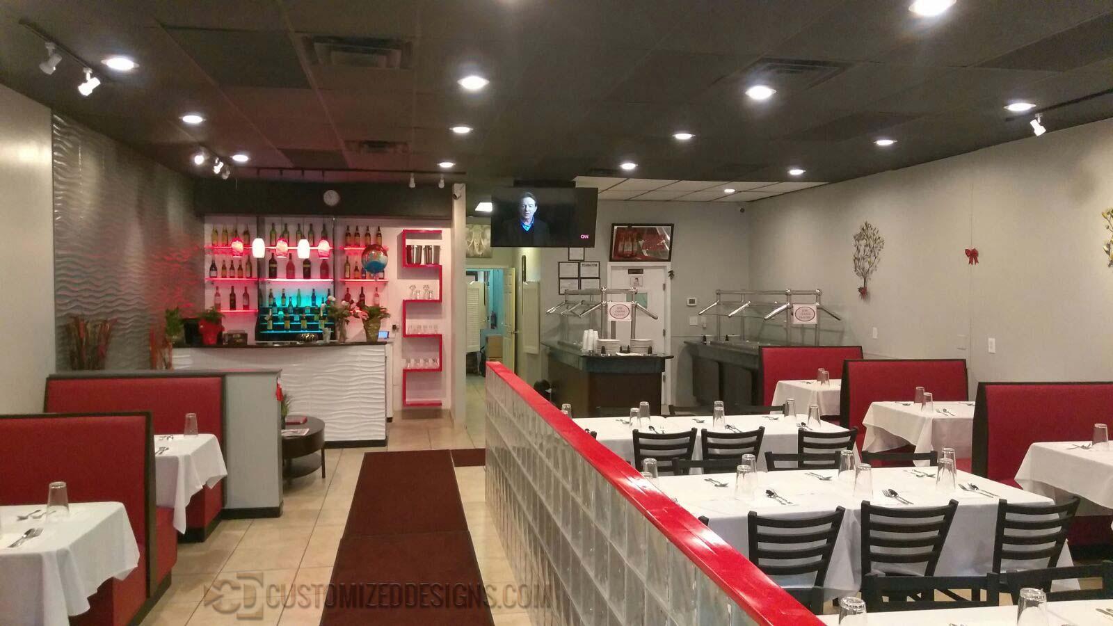 Restaurant Bar Shelving