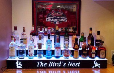 St. Louis Cardinals Themed Home Bar