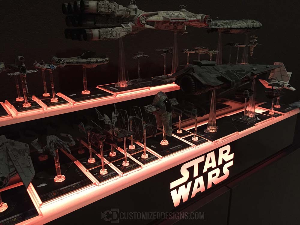 Star Wars Collectible Display