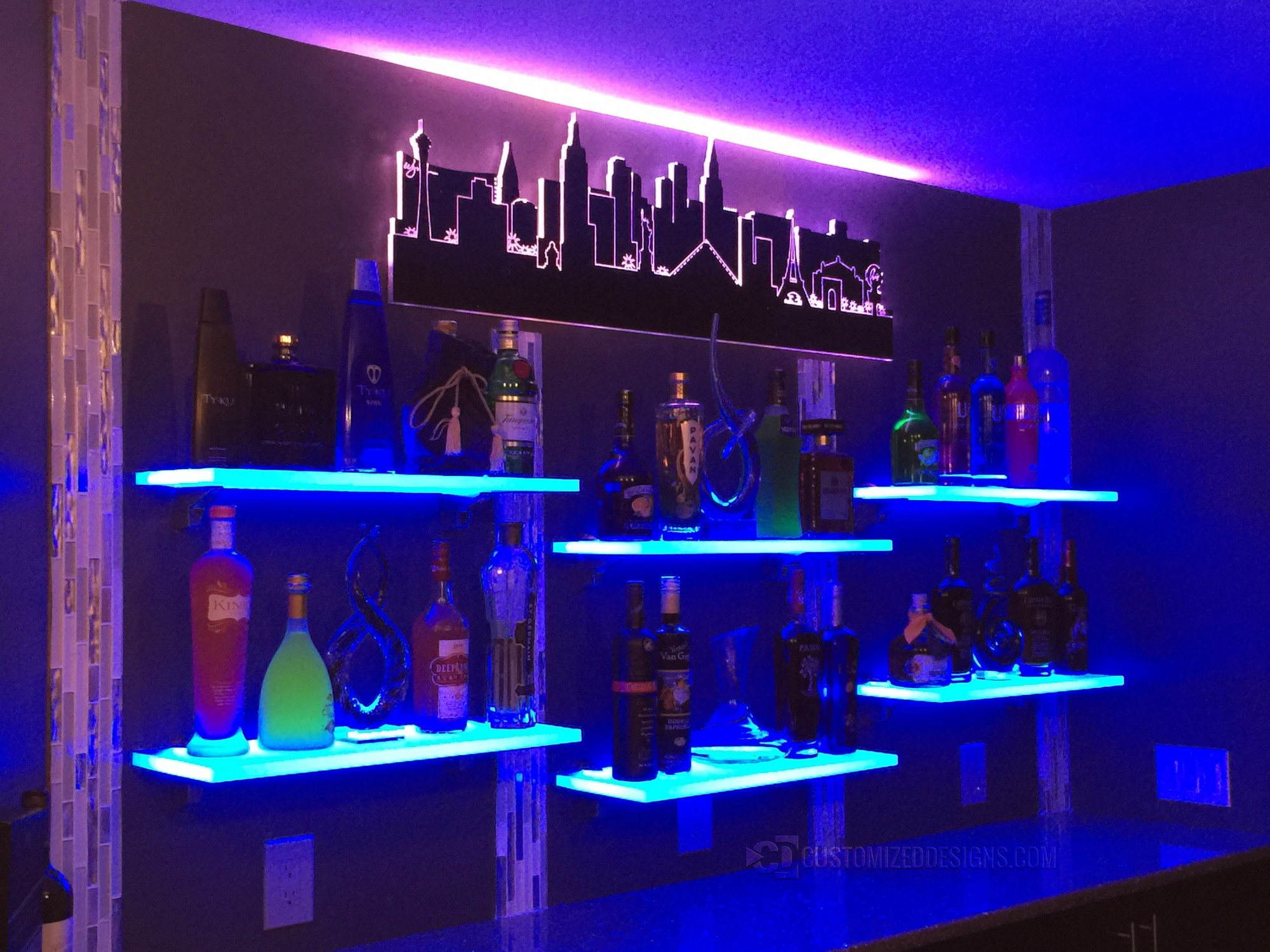 Las Vegas LED Lighted Skyline