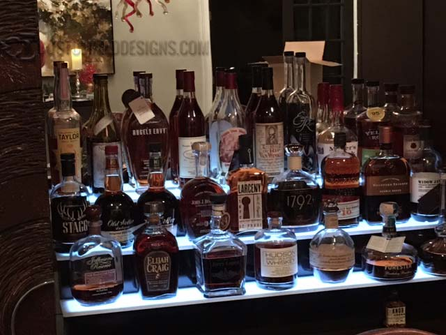 Home Bar Whiskey Collection