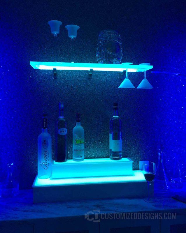 Home Bar Wine Glass Shelving