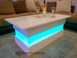 Mirage LED Lighted Lounge Table