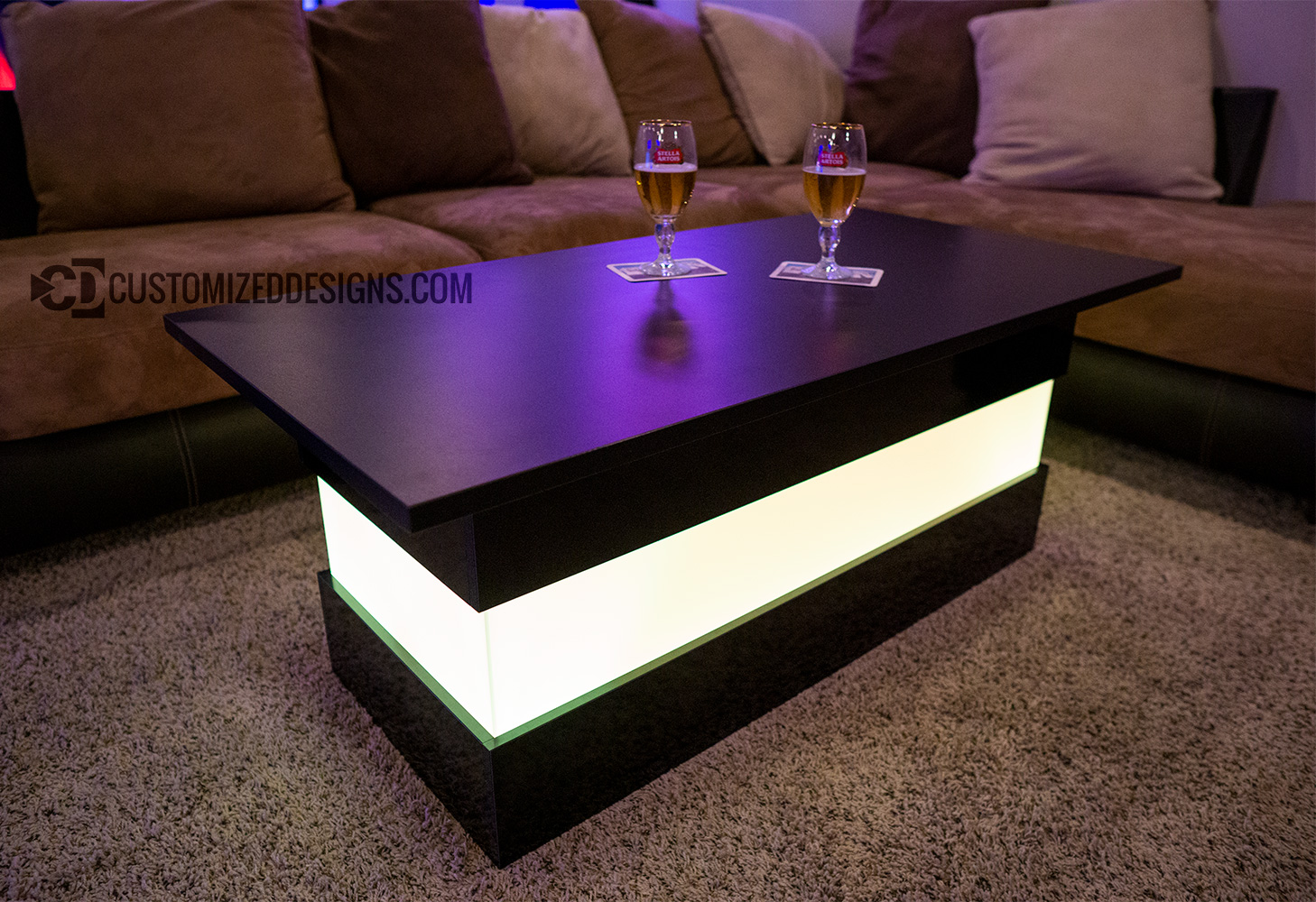 Mirage Led Coffee Table