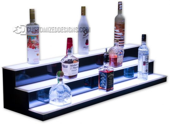 Low Profile Bottle Displays