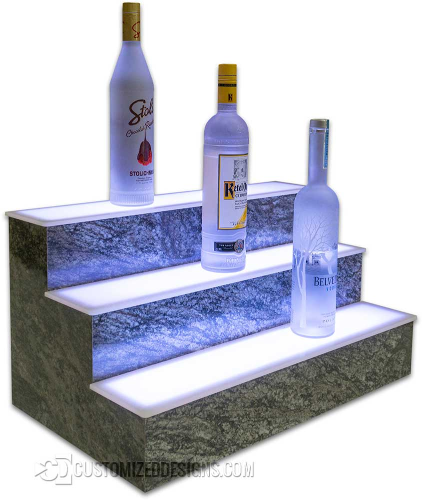 LED Display Shelving Harold Granite