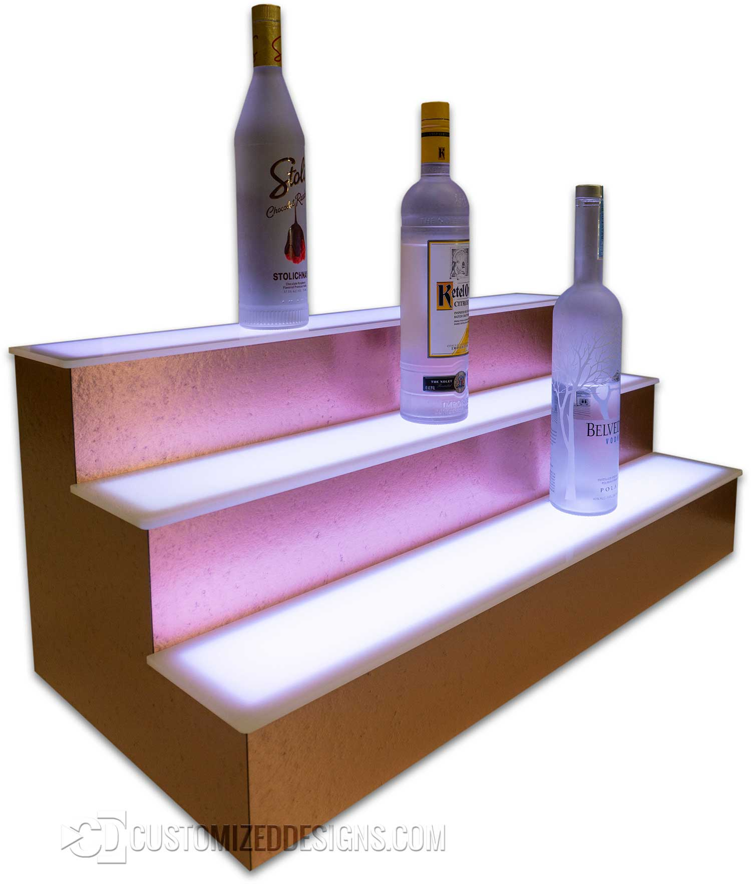 Moonscape Copper Display Shelves