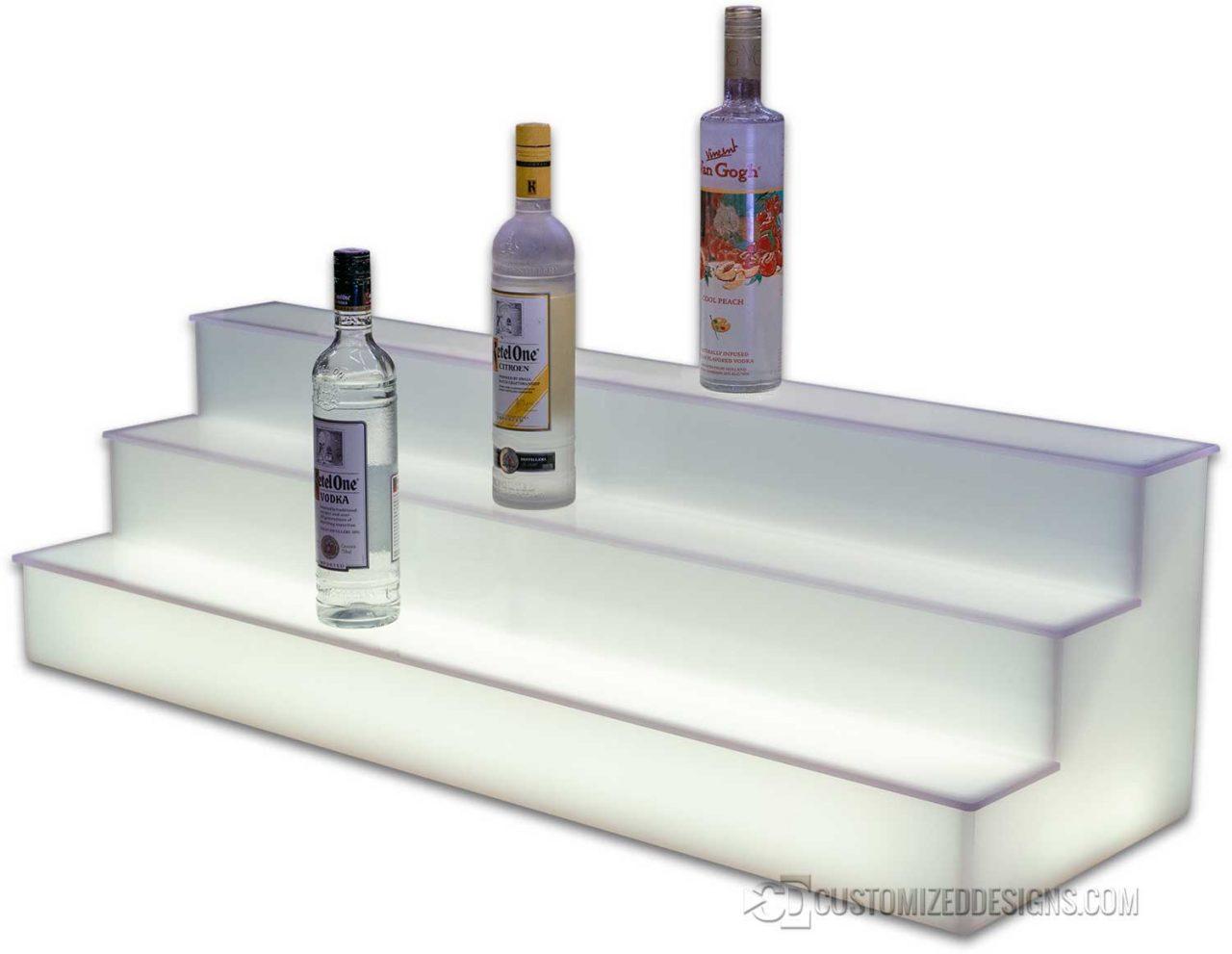 3 Tier All Acrylic Liquor Tiers