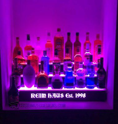 3 Step Home Liquor Display