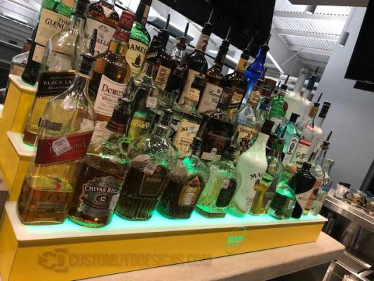 3 Tier Commercial Liquor Display