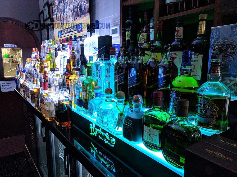 3 Tier Liquor Shelf Humbertos