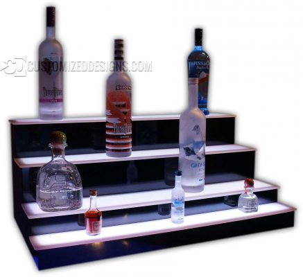 4 Tier Display w/ Mini Shooter 1st tier