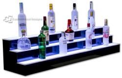 3 Tier 5' Commercial Back Bar Liquor Display