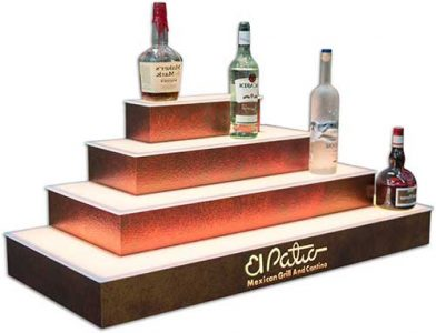 Bar Shelving For Home Amp Commercial Bars Led Lighted