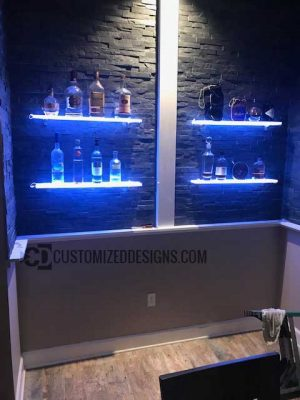 "4.5"" Home Bar Shelving"