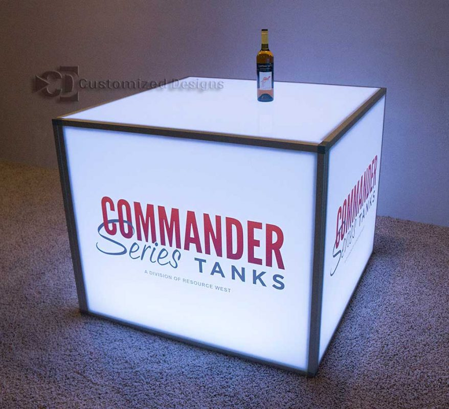 48x48x36 Modular Table - Commander Tanks