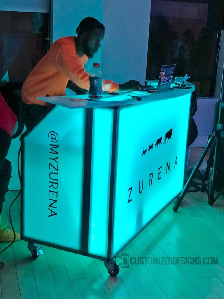 62 Portable Bar Zurena