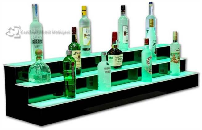 6' Length LED Lighted Bar Shelving