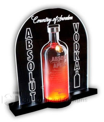 Absolut Vodka Bottle Glorifier