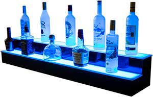 In Stock Liquor Displays