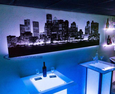 Boston LED Lighted Skyline