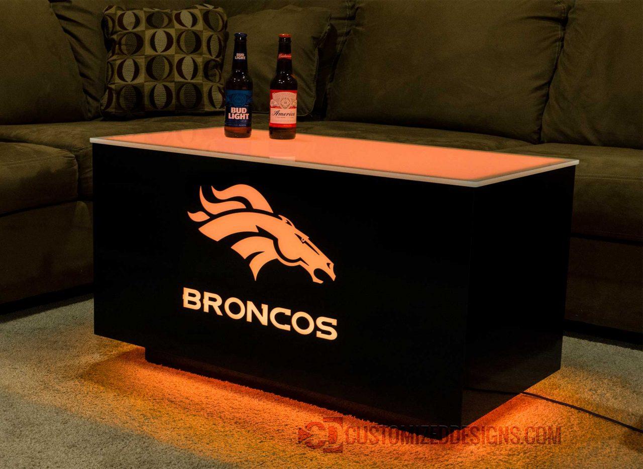 Denver Broncos Cubix Coffee Table