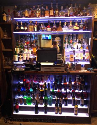 Commercial Back Bar Shelving