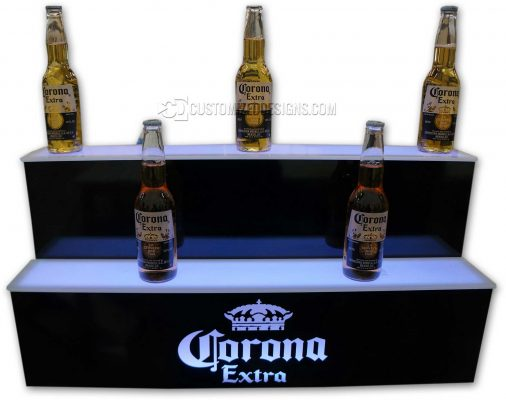 Custom Corona Beer Display w/ Custom Depth Shelving