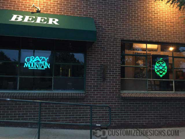 Crazy Mountain Custom LED Signs