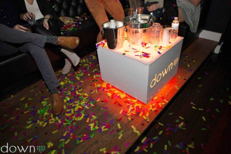 Cubix Lounge VIP Tables