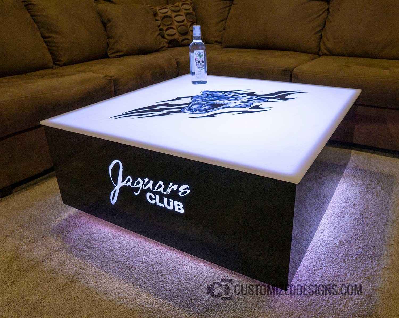 36x36 Cubix LED Nightclub Table