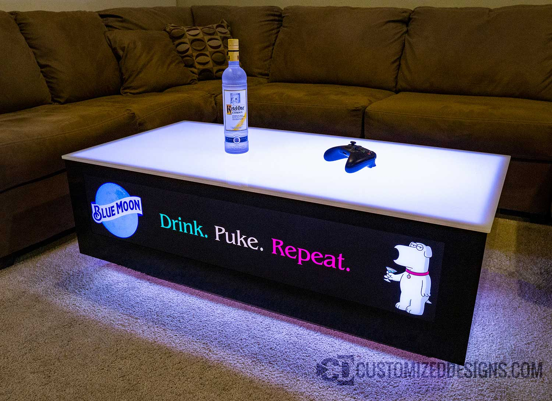 LED Table - 48x24 - Family Guy