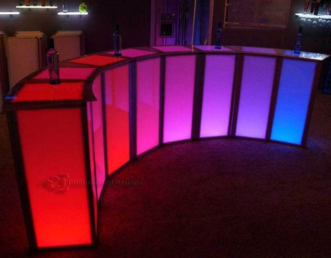 Modular LED Event Bar