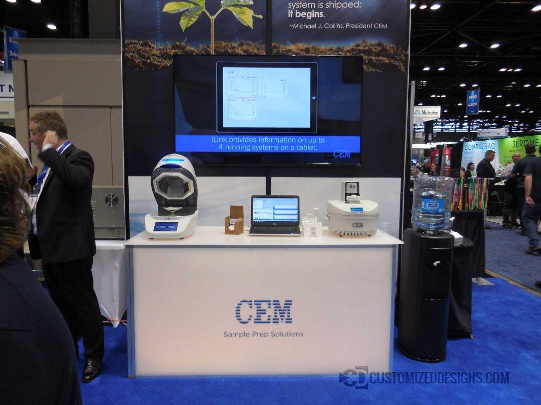 Custom Element Modular Tradeshow Table