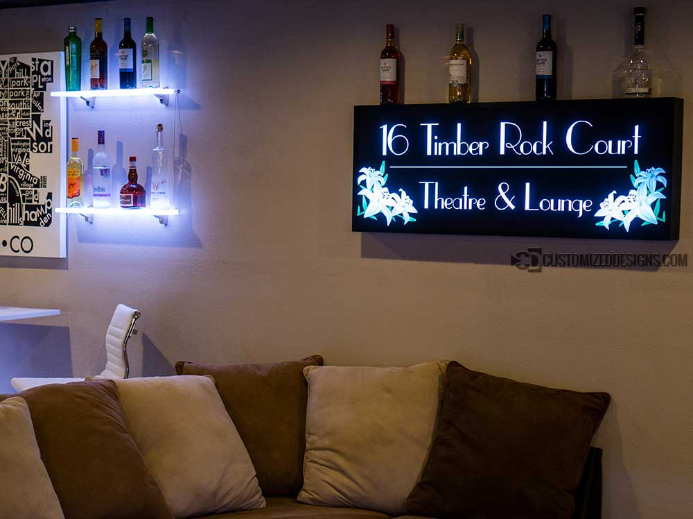 Custom Framed Backlit LED Sign