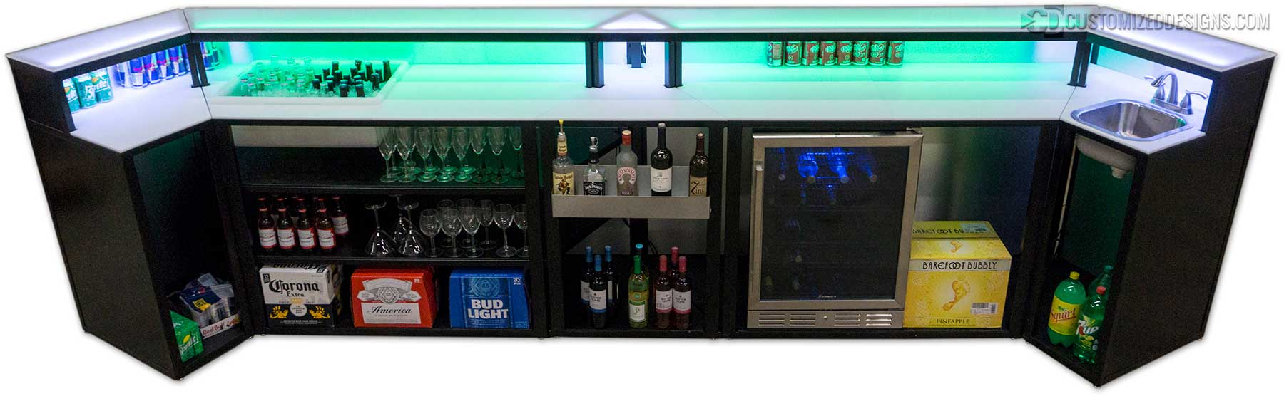 Custom Commercial Bar
