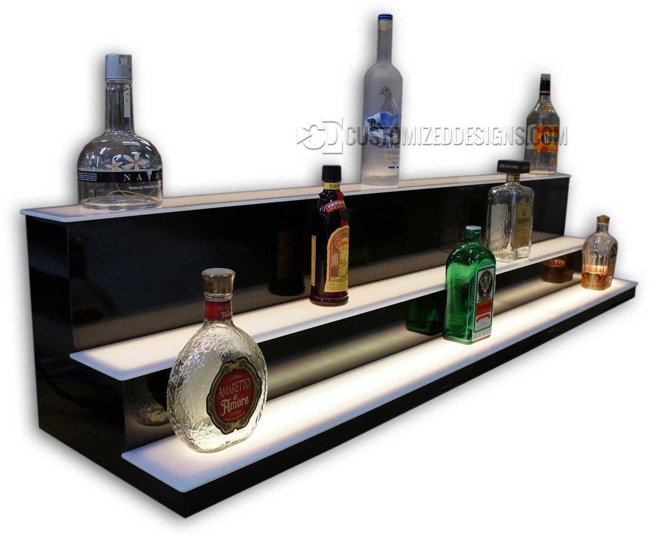 Custom Low/High Profile Liquor Display