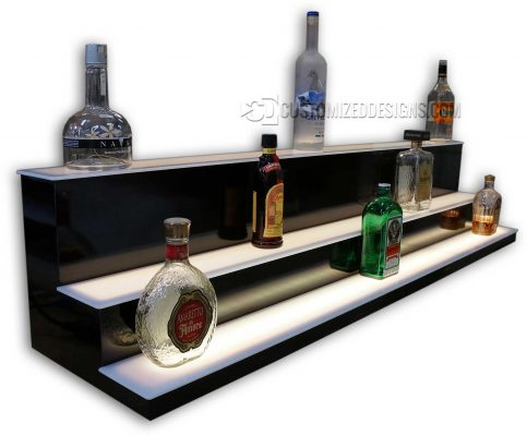 Custom Low/High Profile Liquor Display