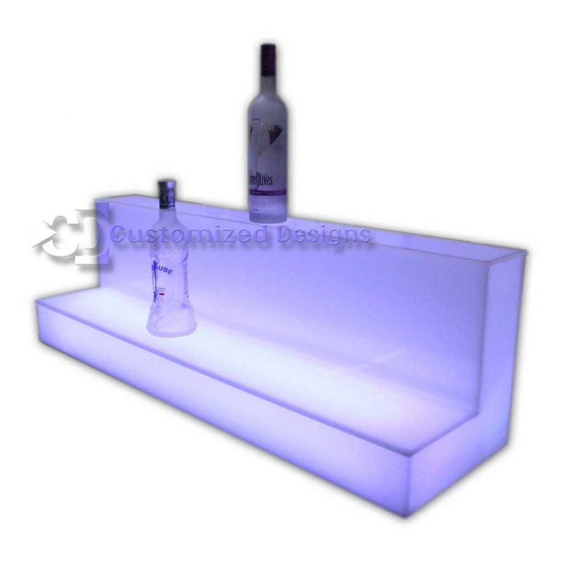 Custom Acrylic Low / High Profile Liquor Display