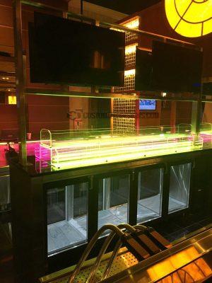 Multiple custom ice display units