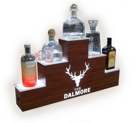 3 Tier Pyramid Style Display w/ Dalmore Logo