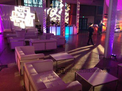e24 Modular LED Lighted Event Bar