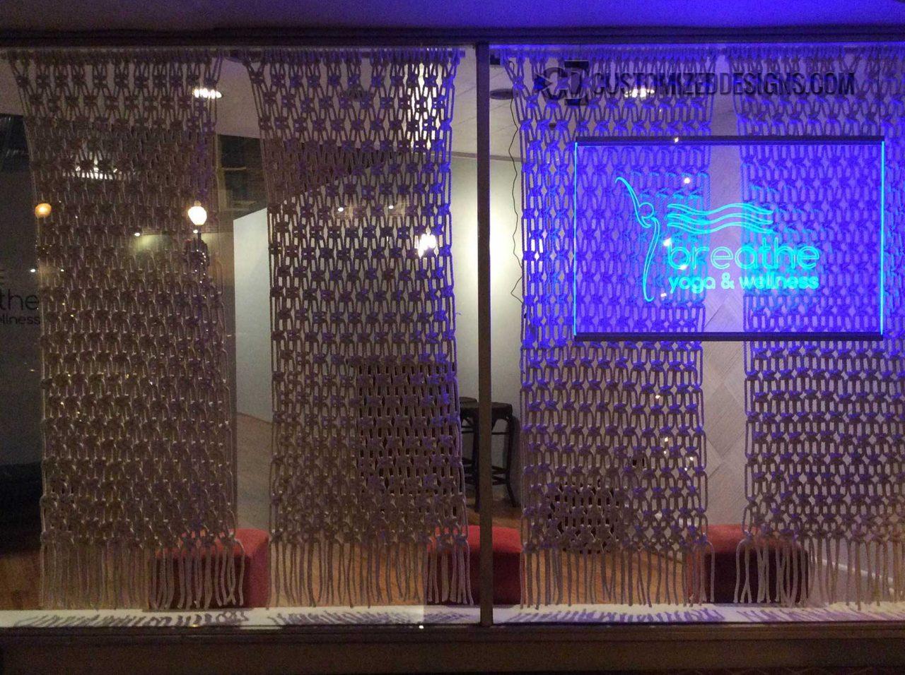 LED Lighted Edge Lit Yoga Sign