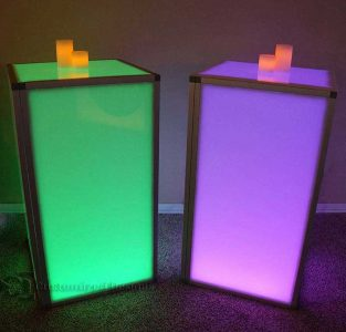 e30 Series LED Tables