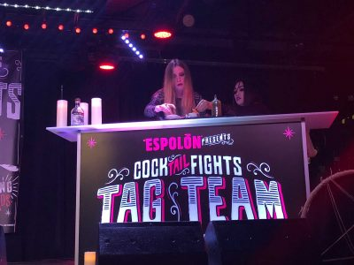 Espolon Tequila Portable Bar Cocktail Fights